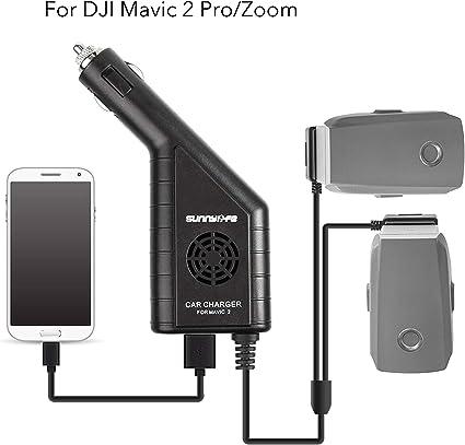 Amazon.com: Cargador de batería de coche accesorios para DJI ...