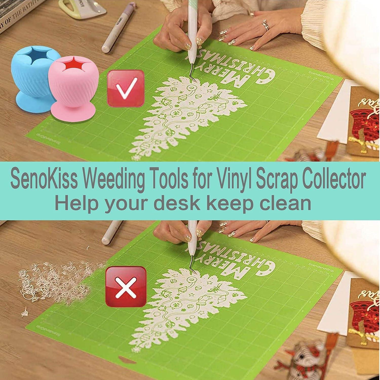 Pink SenoKiss Weeding Tools for Vinyl Scrap Collector