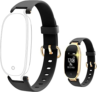 Amazon.com: Fitness Tracker, Mujer Sport Tracker Smart Watch ...