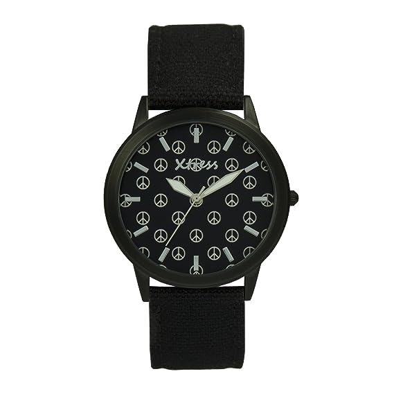 XTRESS Reloj Analógico para Hombre de Cuarzo con Correa en Nailon XNA1035-25