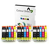 15 XL ColourDirect Ink Cartridges Replacement for Epson Expression Premium XP-510 XP-520 XP-600 XP-605 XP-610 XP-615 XP-620 XP-625 XP-700 XP-710 XP-720 XP-800 XP-820 Printer 26XL