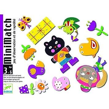 Djeco- Juego de Cartas Minimatch, (35175): Amazon.es ...
