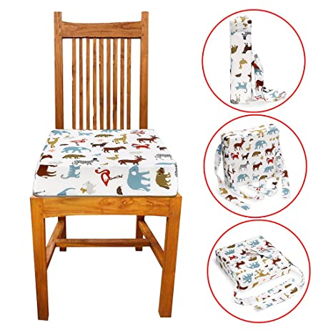 Amazon.com: Sumnacon - Cojín de aumento para silla de bebé ...