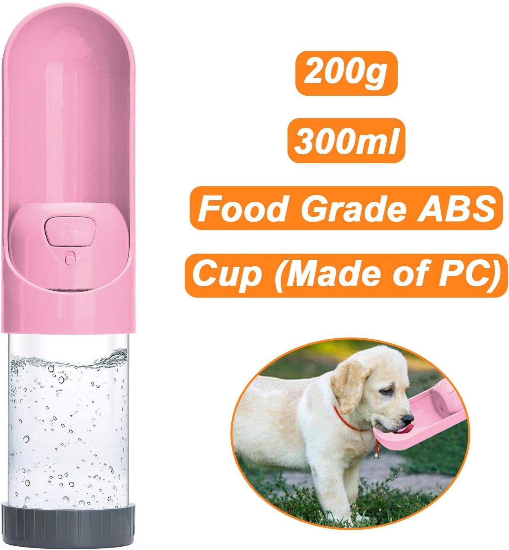 Botellas de agua Recipiente de Agua para Perros de Viaje Botella ...