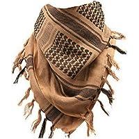 Afgan Stole Military Shemagh Tactical Shemagh Arab Desert Keffiyeh Neck & Head Scarf Wrap Turban Woven Cotton 100%