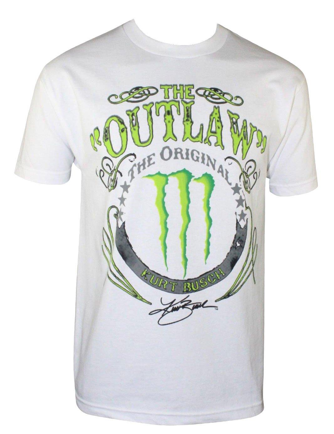 The Outlaw Panic Switch Kurt Busch Monster Adult T Shirt 4314
