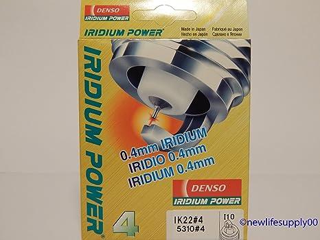 DENSO # 5311 IRIDIUM Power Spark Plugs -- IK24 ----- 4