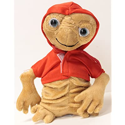"ET the Extraterrestrial 8"" E.T. Plush Figure w/RED Hoodie: Toys & Games"