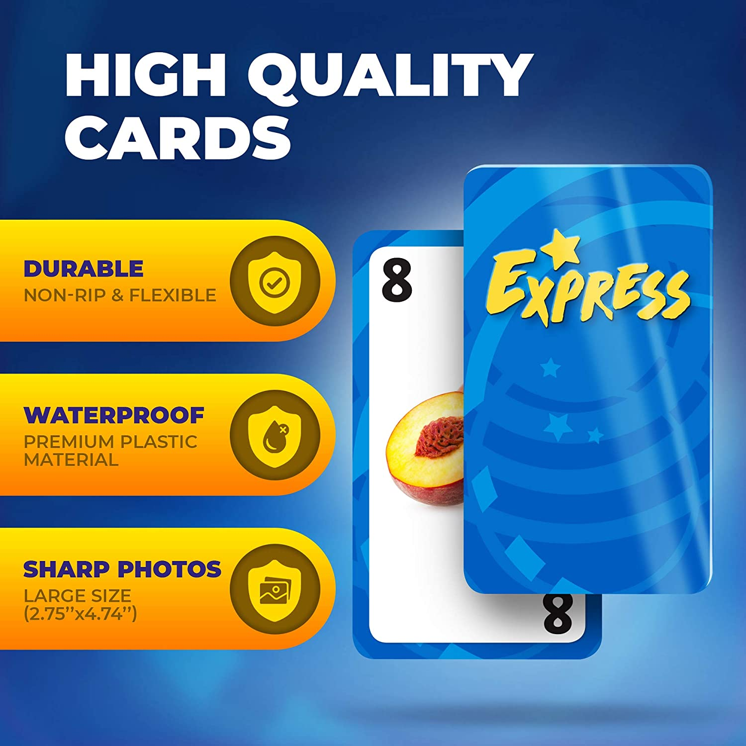 Early Education 4 Categories ADA Autism Realistic Photos 52 Flash Cards Children Non-Rip Material for Kids 1 Professional Extension learing English Unique Speech Therapy Fun Card Game
