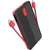 Zore ZR-1013 Powerbank 10000 mAh Dahili Kablo Type-C Micro iPhone