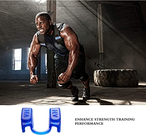 Bodybuilding,Kee Powerlifting Mouth Guards for Sports and Fitness Weight Lifting