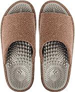 BIKINIV Acupressure Reflexology Massage Slippers with Orthotic for Flat Feet Plantar