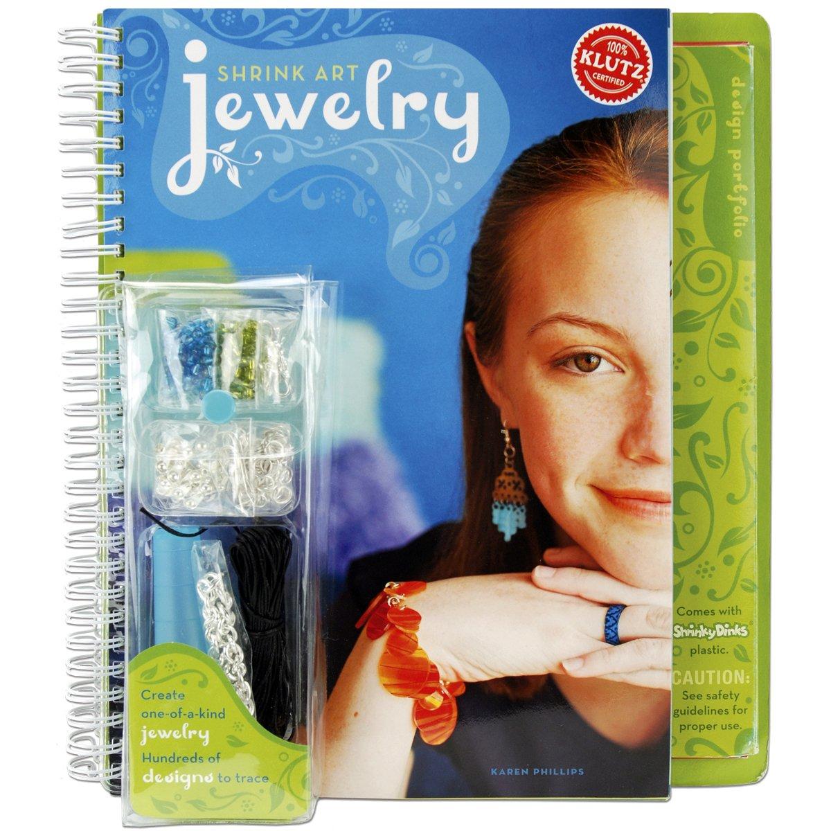Klutz Shrink Art Jewelry karen-phillips K4377 Teens - General