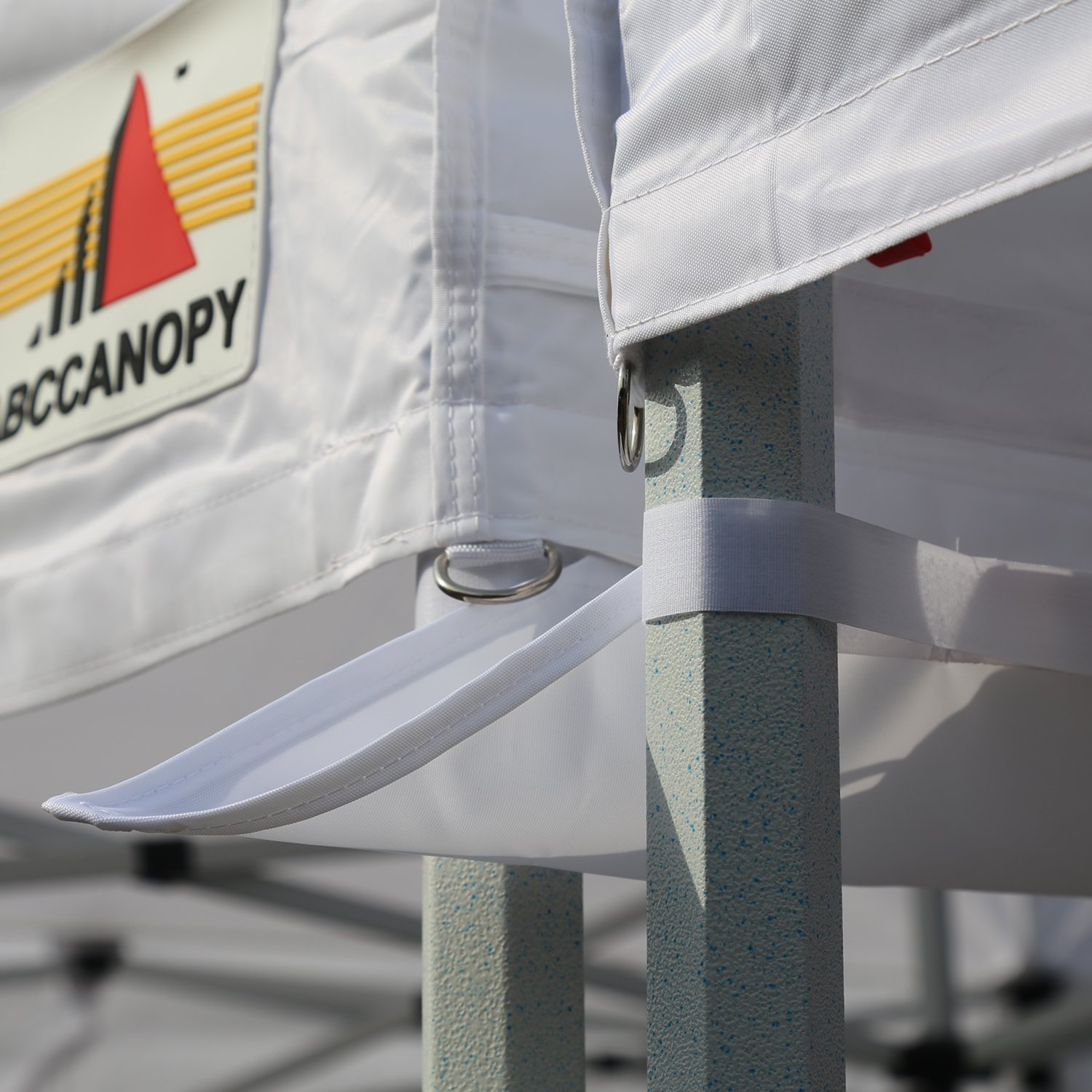 ABCCANOPY Canopy Accessories 10 Foot Canopy Rain Gutter/Light Gutter for 10' X 10' Canopy Pop up Tent (White-2) by ABCCANOPY