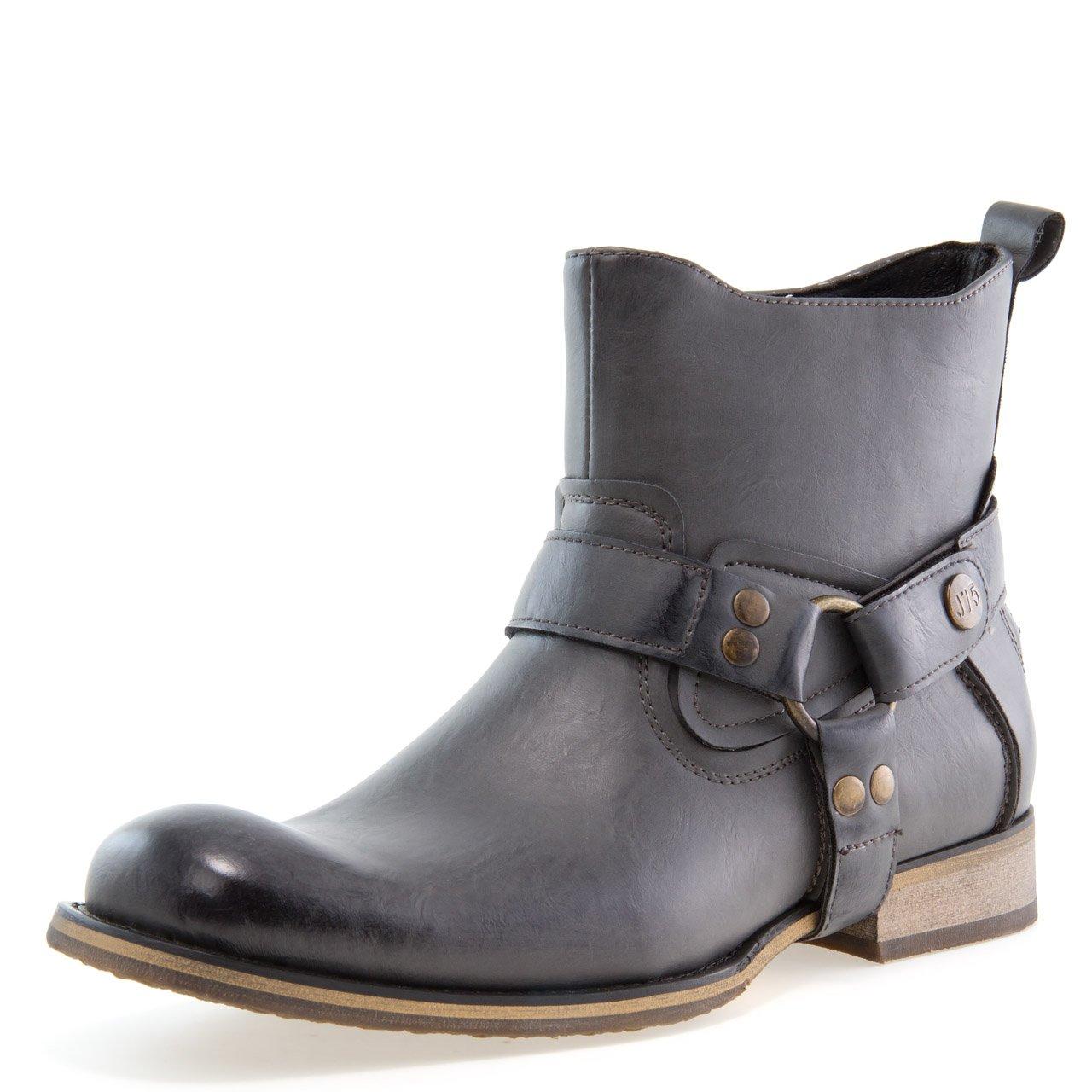 Jump J75 Men's Wild X Western Boot Coal 13 D US