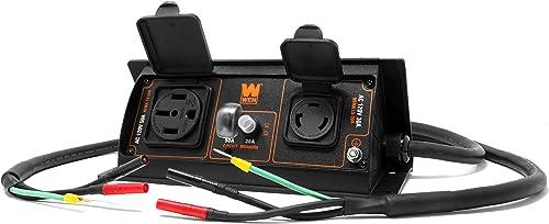 WEN GNA50i 50-Amp 6000-Watt Parallel Connection Kit for Inverter Generators, Black