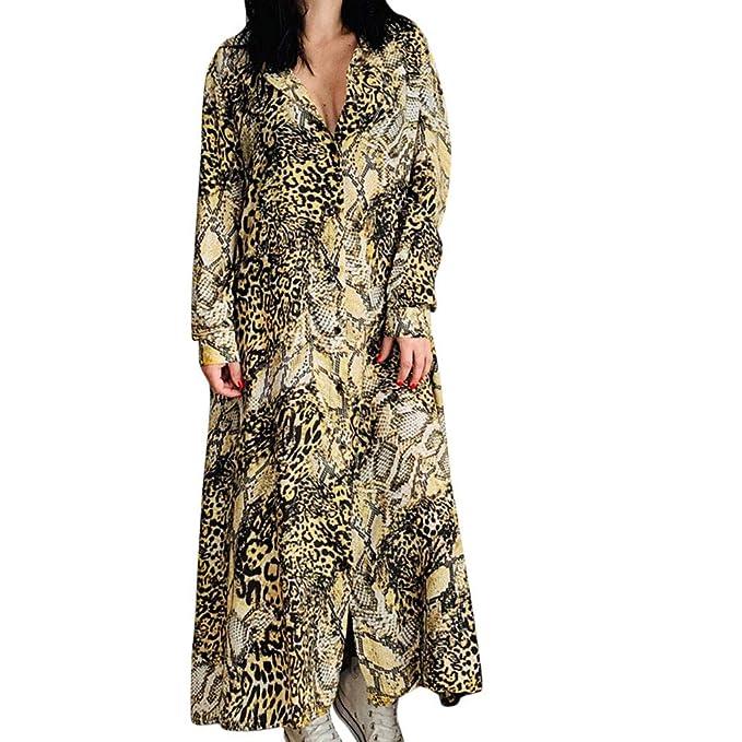 Lange Fledermaushemd ❤ Damen Kleid MCYs Leopardenmuster 9eEIW2YDH