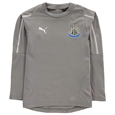 Puma Newcastle United - Sudadera de Entrenamiento para niños (2018, 2019): Amazon.es: Deportes y aire libre
