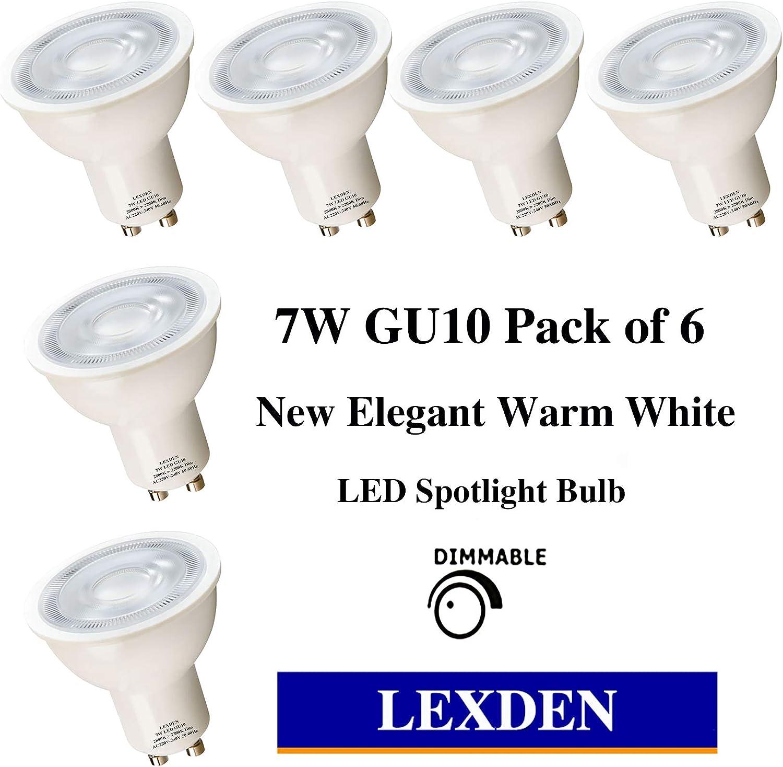 Real Colour CRI-95 LED GU10 COB PAR16 7W Warm or Cool white light Dimmable avail
