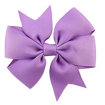 2X Handmake Sweet Baby Newborn Infant Kids Girls Bow Bowknot Hair Clips Hairpins
