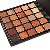 DONGXIUB 25 Colors Long Smoky Matte Vegan Eyeshadow Makeup Palette Colors Shimmer Warm Neutral Eyeshadows
