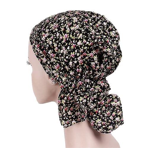 ZYCC Cappello unisex cappello cappello Bandana cotone stampato cappuccio turbante per il cancro, Che...