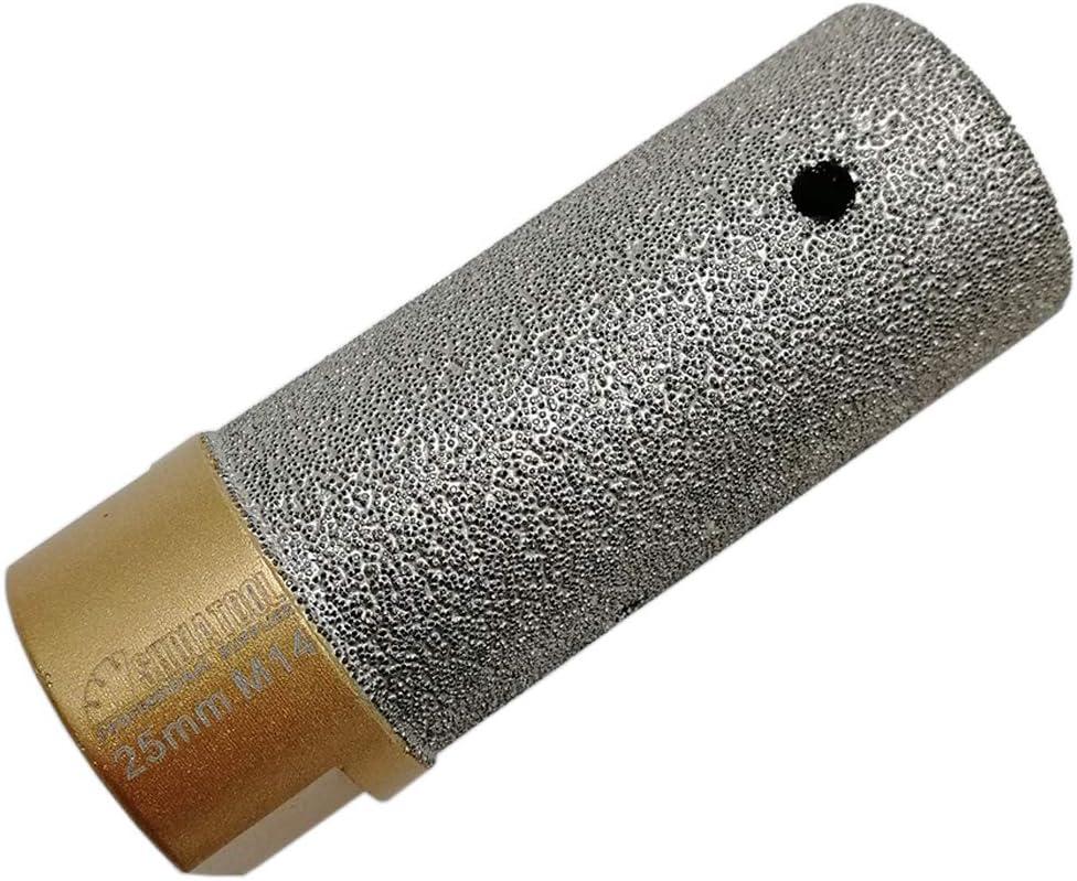 SHDIATOOL 1PK Diamond Finger Bit Milling Bit M14 Thread