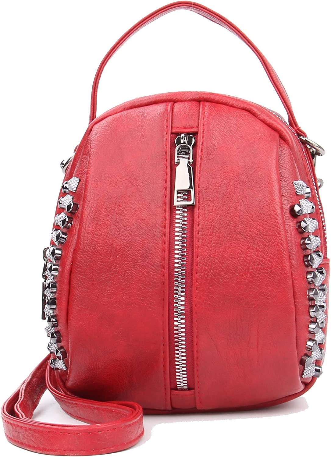 Rivet Studded Crossbody...
