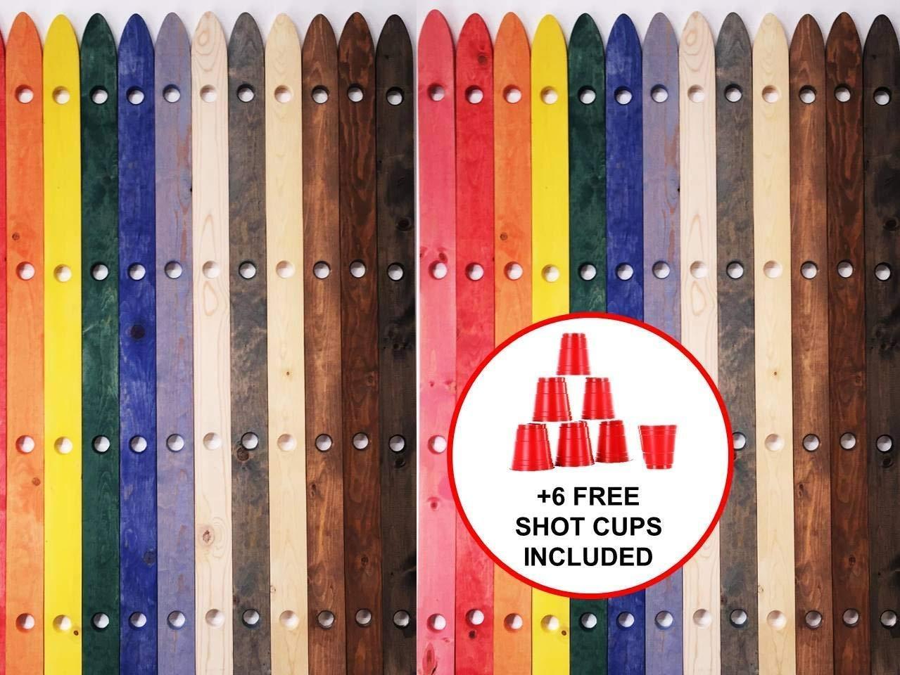 Shotski, Wooden Shotski, Shot Ski
