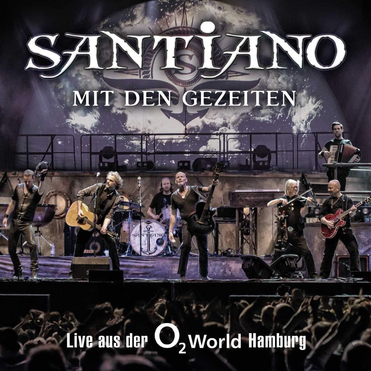 Mit Den Gezeiten Live Aus Der O2 World Hamburg Santiano Amazon De Musik