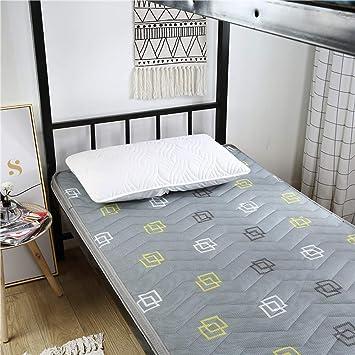 GJFLife Suelo Colchón Tatami Clip de Dinero Cubierta Cama alfombras, Plegable Primeros del colchón Clip de Dinero Respirable Sleeping Pad Futón-N ...