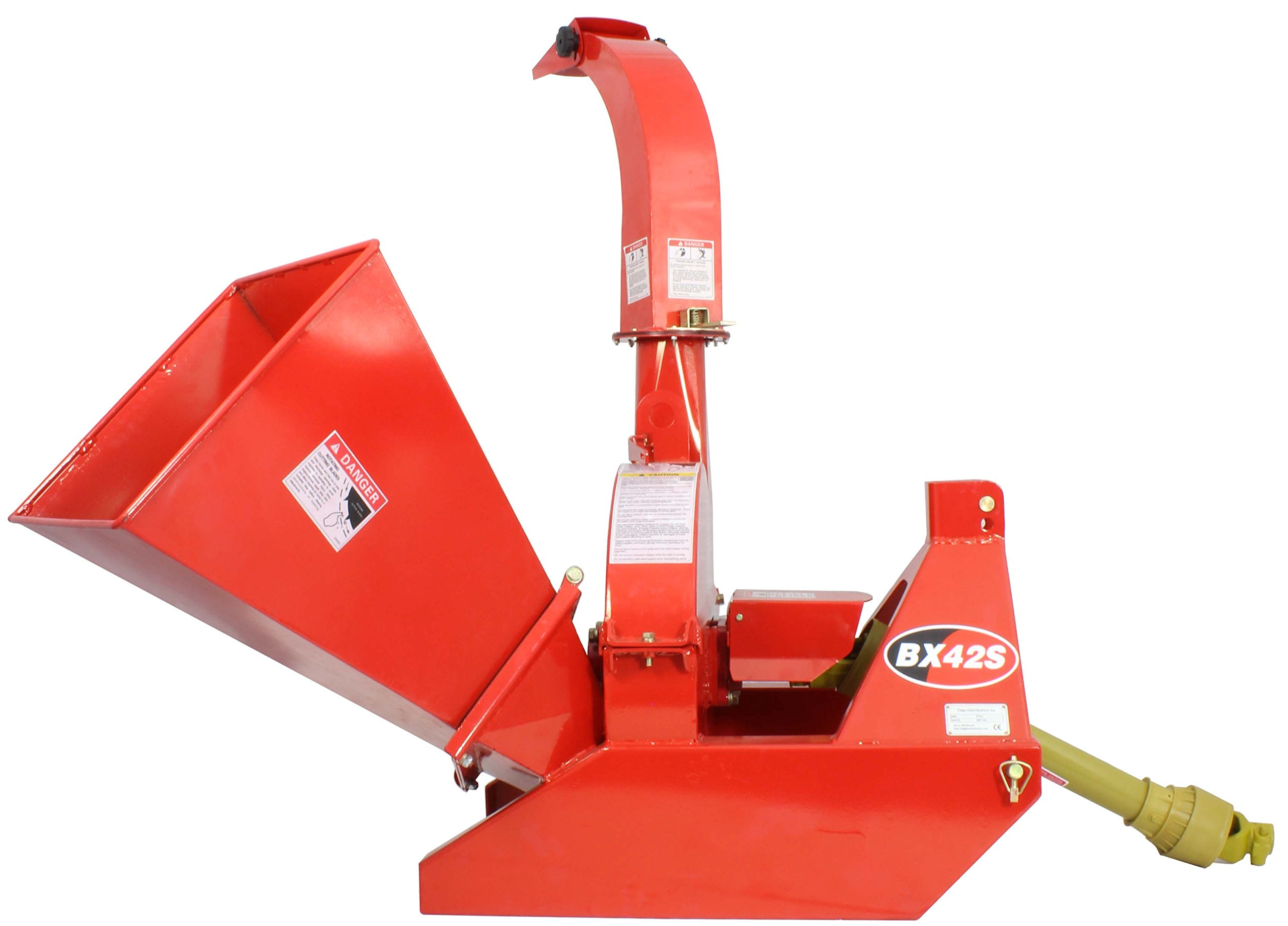 Wood Chipper 3 point attachment Tractor PTO 4''x10'' Automatic Tree Brush BX42