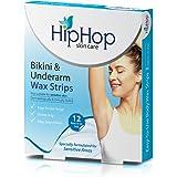 Hiphop Skincare Bikini & Underarm Wax Strips With Argan Oil (Pack Of 2)