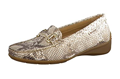 b263fcbc94 Mephisto Women's Natala Fashion Loafers, Gold Leather, Rubber, Latex, ...