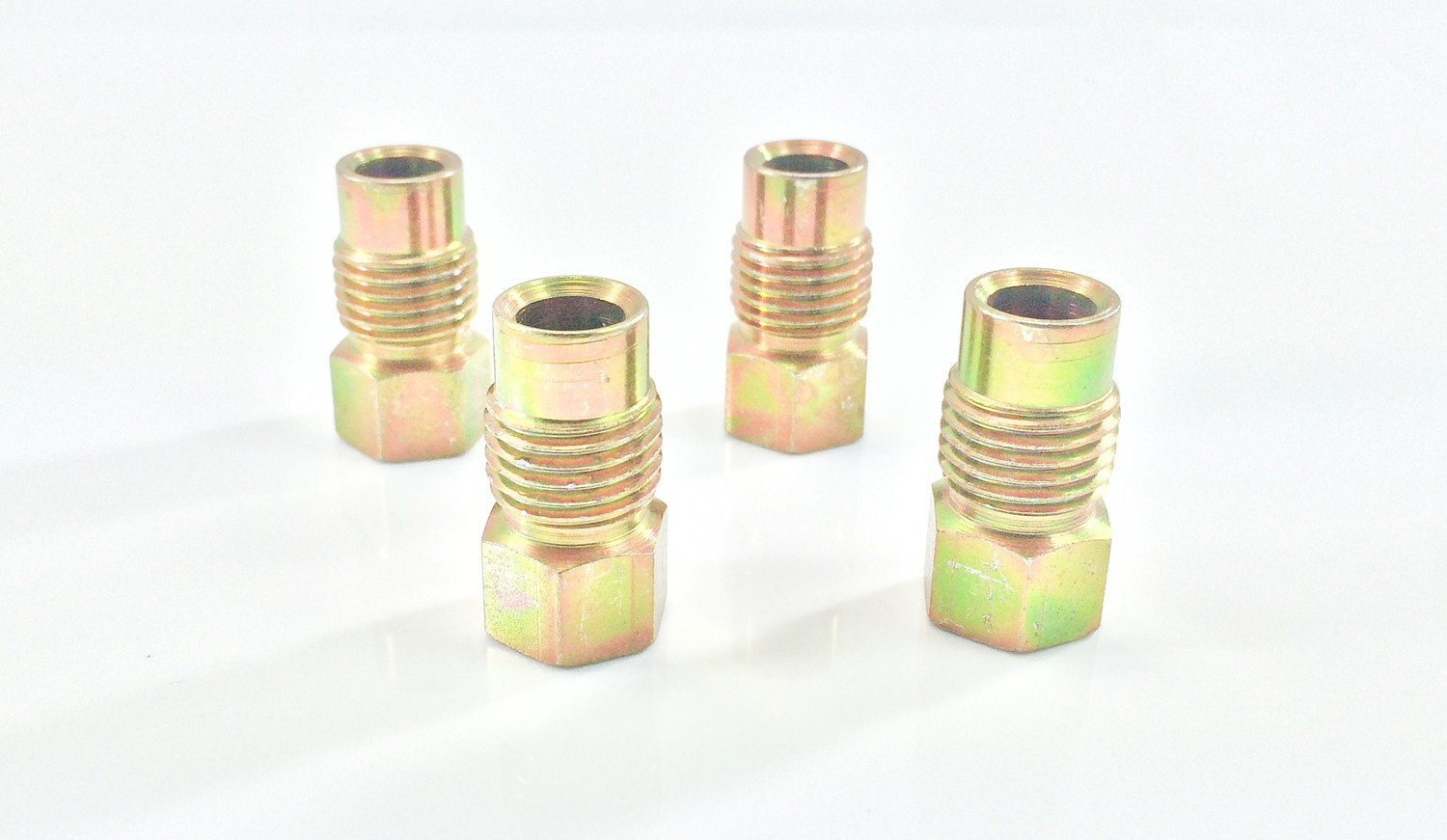 5/16' Fuel Line Tube Nut (14mm x 1.5) (Pack of 4) The Stop Shop