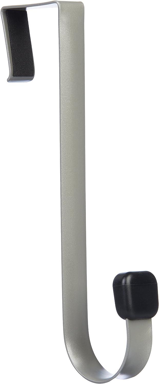 Bianco Gancio singolo per porta Basics