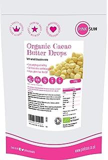 PINK SUN Manteca de Cacao Organica 500g Bio (o 1 kg) Pura Sin Refinar