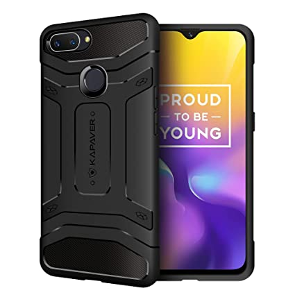 designer fashion 0f97c cb703 KAPAVER® Oppo Realme U1 Back Cover Case Drop Tested Shock Proof Carbon  Fiber Armor Black (Only for Realme U1) (Carbon Black)