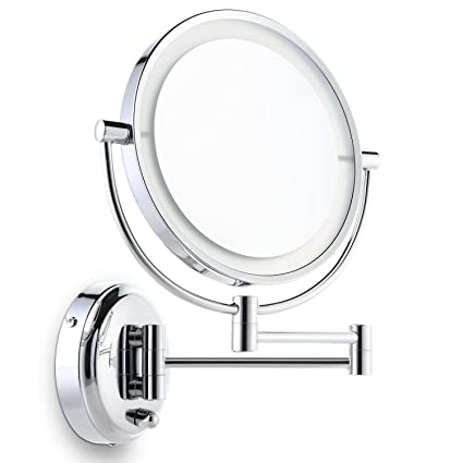 Amazoncom Miusco Lighted Magnifying Double Side Adjustable Makeup
