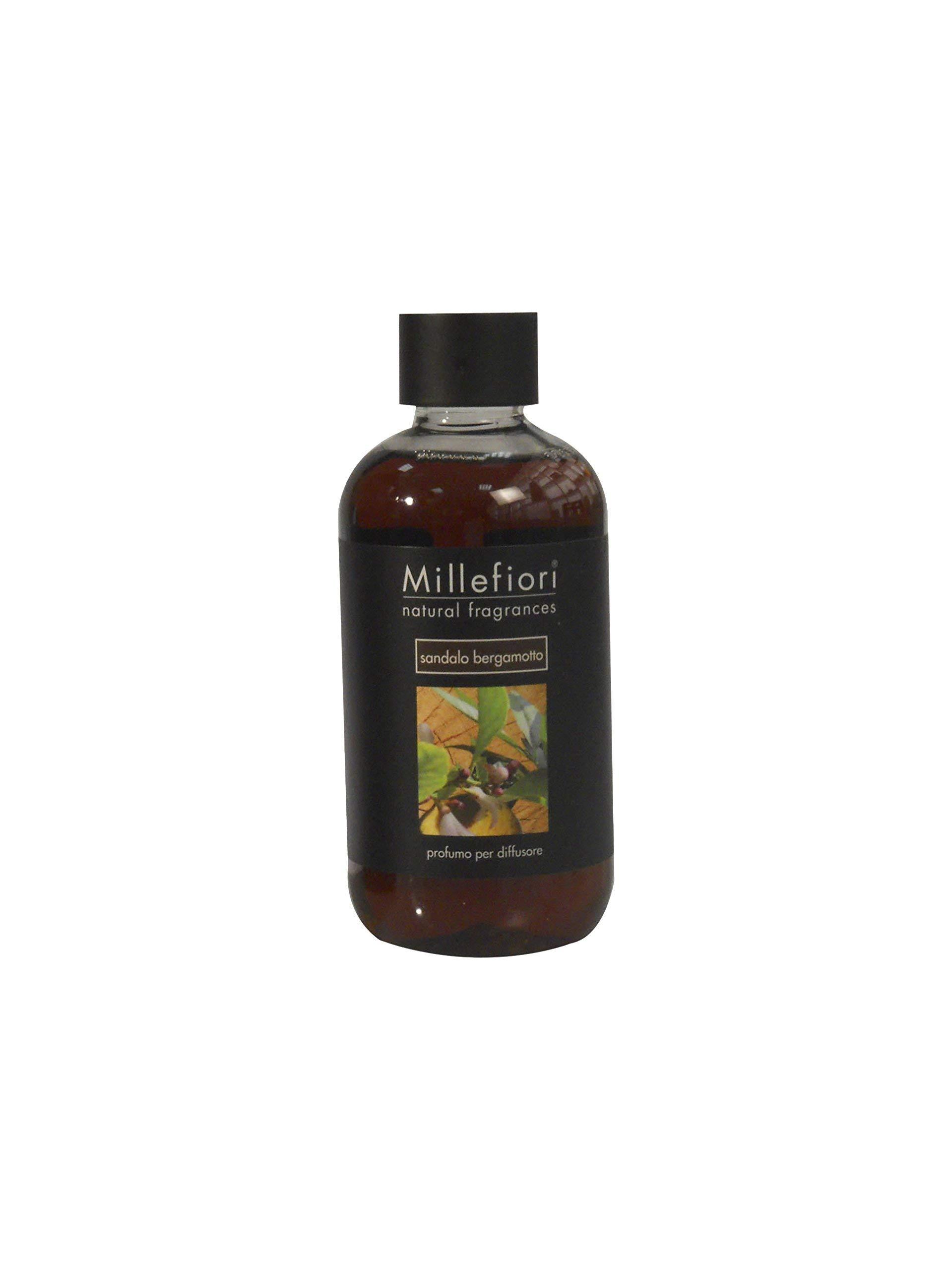 Millefiori Milano Fragrance Refill Stick, 250ml, Sandalo Bergamotto