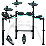 Alesis DM Lite Kit | 5-Piece Electronic Drum Set with Collapsible 4-Post Rack, Built-in Drum Coach with Play-along Patterns, 10 Ready-to-play Classic and Modern Kits (Drum Sticks Included)