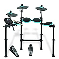 Alesis DM Lite Kit   5-Piece Electronic Drum Set with Collapsible 4-Post Rack (Drum Sticks Included)