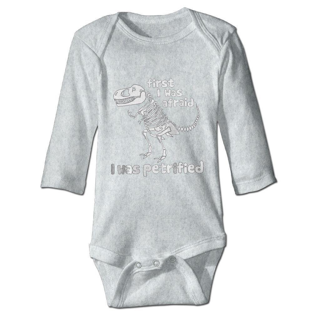 braeccesuit Infant Dinosaur Skeletons Long Sleeve Romper Onesie Bodysuit Jumpsuit