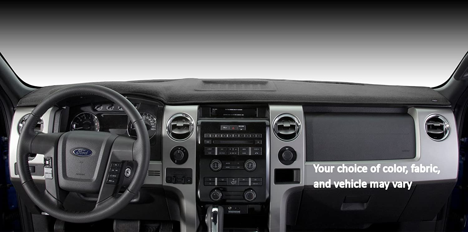 91701-00-47 Covercraft Custom Fit Dash Cover for Select Dodge Ram 1500 Models Needle Punch Ca Grey