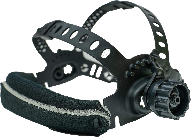Fascia per casco da saldatura con kit di montaggio HurthAG ADF