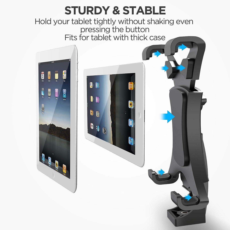 amazon com ipow ipad tripod mount adapter universal tablet clamp