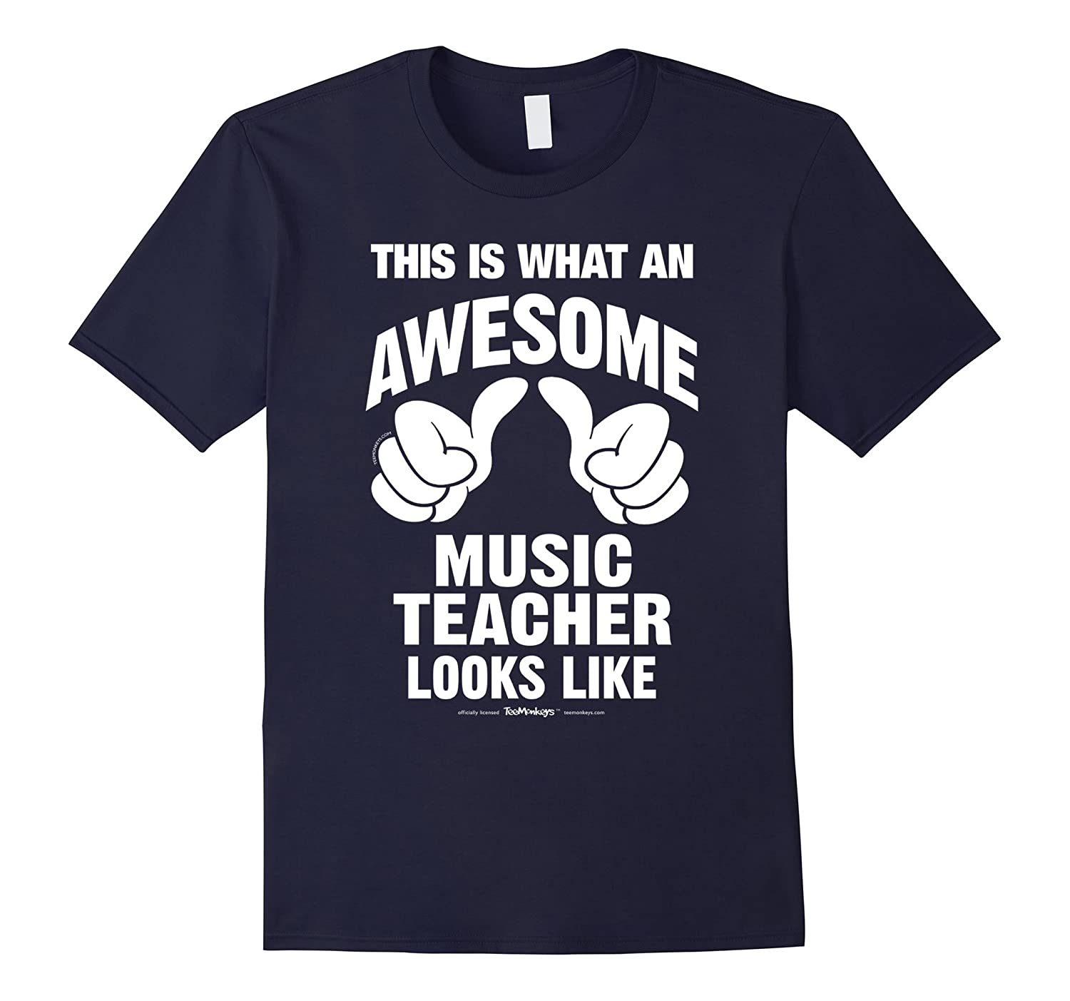 This Is What An Awesome Music Teacher Looks Like T-Shirt-RT