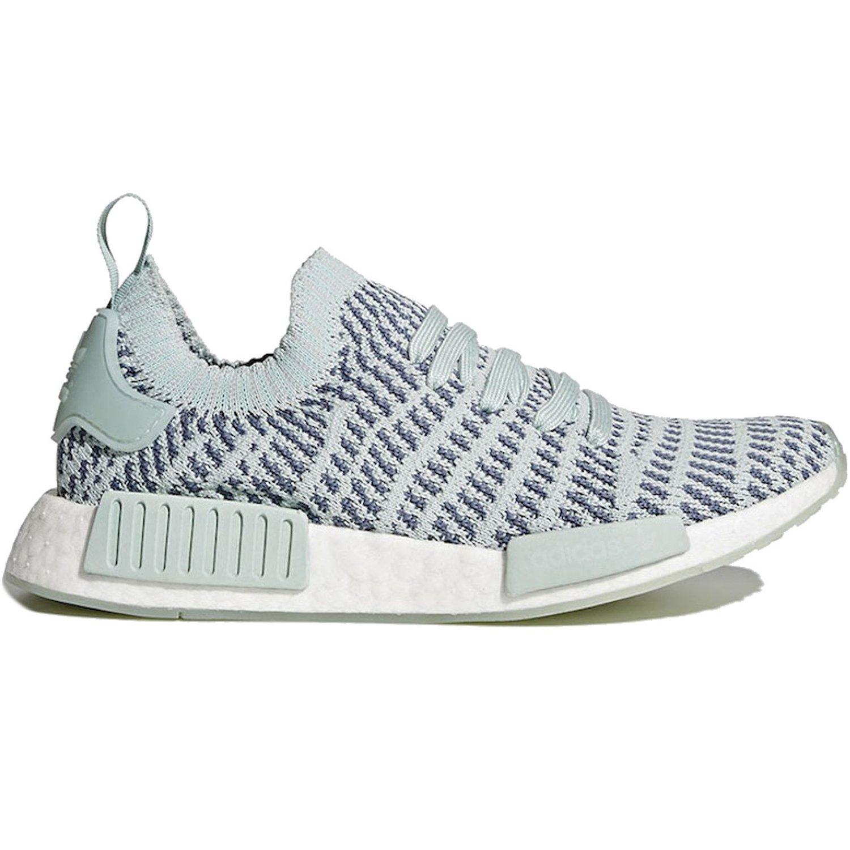 save off a5c25 4c05f adidas Originals NMD R1 STLT PK Running Shoes Grey/White ...