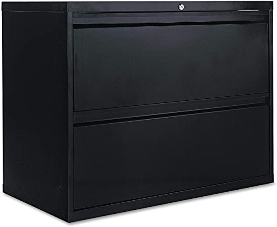 Alera 2 Drawer Lateral File Cabinet 36 By 19 1 4 By 29 Inch Black Furniture Decor