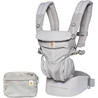 Omni 360 Cool Air Mesh All Positions Carrier Full *with Pouch *Pearl Grey *Aus Edition
